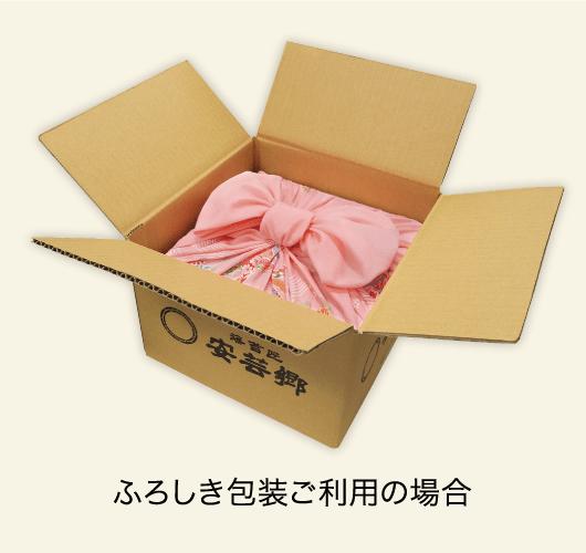 ふろしき包装ご利用の場合